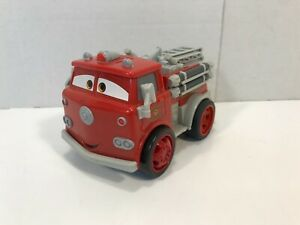 Disney Pixar Cars Shake N Go Red Fire Truck Mattel 2007 TESTED