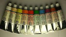 Gama de 84 colores. elige 10 Pack maestro PAN artistas profesionales de pinturas al óleo 45 Ml