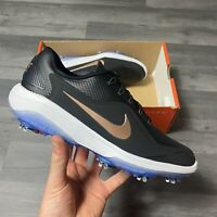 WOMENS NIKE REACT VAPOR 2 BLACK BRONZE GOLF SHOES TRAINERS UK5.5 US8 EUR39