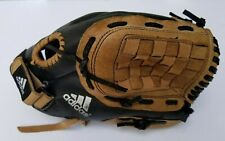 "Adidas Baseball Glove Easy Close 11.5"" Black Tan Youth TS1150 Right Hand Thrower"