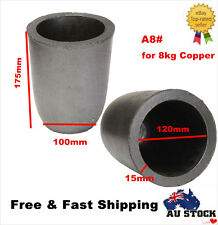 A8# Graphite Crucible Furnace Casting Crucible Melting Tool for 8KG Copper