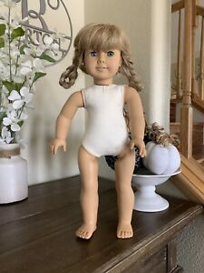 """American Girl 18"""" Doll Kirsten West Germany Pleasant Company White Body"""