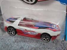 Voitures de courses miniatures blancs Hot Wheels 1:64