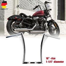 16'' Motorrad Ape Hanger Lenker Chrom Handlebars 1-1/4'' für Harley FLST FXST