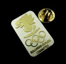 Bulgaria NOC National Olympic Committee Pin Badge Sochi 2014 Olympics