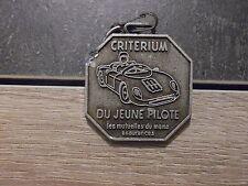 Porte clé métal Critérium du jeune pilote - Les mutuelles du Mans