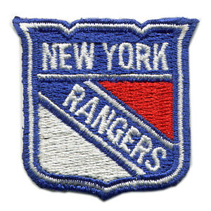 "NEW YORK RANGERS NHL HOCKEY SMALL 1.5"" TEAM LOGO PATCH"