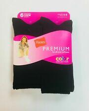 Hanes Women's Crew Premium Soft Socks 6-Pairs  Shoe Size 5-9
