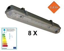 8 X LED Fassung 150cm Feuchtraumleuchte IP65 für T8 G13 Röhren Rohre Art.HRS-T19