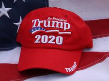 # DONALD TRUMP 2020 PRESIDENT UNITED STATES US FLAG HAT CAP PIN UP REPUBLICAN