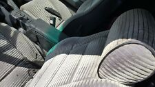 84 MAZDA RX7 USED CLOTH GREY BUCKET SEATS IMPERFECTIONS