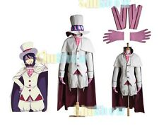 Ao no Blue Exorcist Mephisto Pheles Cosplay Costume japanese anime