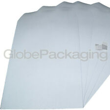 20 x C4/A4 PLAIN WHITE SELF SEAL ENVELOPES 90gsm SS