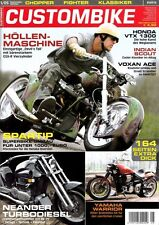 CB0505 + HONDA VTX 1300 + INDIAN SCOUT + VOXAN ACE + Custombike 5/2005