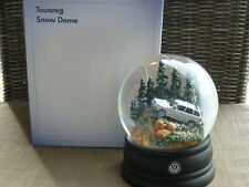 SNOW GLOBE DOME BOULE A NEIGE VW VOLKSWAGEN TOUAREG