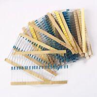 20 Werte 1/4 Watt Metallschichtwiderstand Widerstand Klassifizierung Kit Set 1%