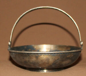 ANTIQUE RUSSIAN SILVER PLATED BASKET
