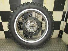 01 2001 bmw dakar f650 gs f 650 f650gs rear wheel rim hub disk rotor sprocket