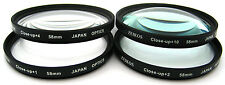 4PC CLOSE-UP MACRO LENS SET (+1+2+4+10) FOR SAMSUNG NX200 (For 18-55mm Lens)