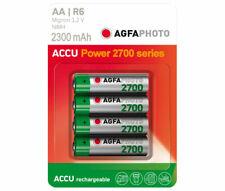AGFAPHOTO Akku NiMH, Mignon, AA, HR06, 1.2V/2300mAh Retail Blister (4-Pack)