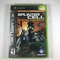 Tom Clancy's Splinter Cell Pandora Tomorrow (Microsoft Xbox , 2004) Complete