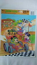 Vintage Micky Mouse cardboard fram tray puzzle