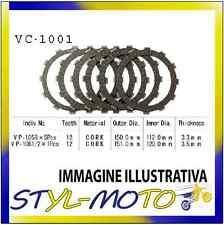 KIT DISCHI FRIZIONE SUGHERO VESRAH CBR 600 F (PC25 PC31) 600 1994