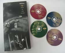 B.B. KING OF THE BLUES - 1949 - 1991 - 4 CD BOX SET DEFINITIVE COLLECTION - NICE