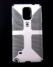 Speck - Candyshell Grip Case For Samsung Galaxy Note 4 Cell Phones. WHITE/BLK