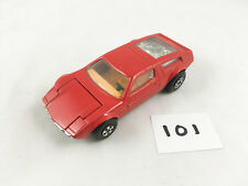 RARE VINTAGE MATCHBOX SPEEDKINGS # K-56 MASERATI BORA DIECAST SUPER CAR RED 1975