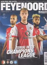 Programme / Magazine Feyenoord Rotterdam 11e jaargang no.2 September 2017