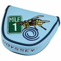 ODYSSEY 2017 AUGUST CHAMPIONSHIP MALLET HEADCOVER LIGHT BLUE 1 NEW