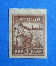 1919 LATVIA 35K SCOTT# 51 MICHEL # 27y UNUSED                            CS40006