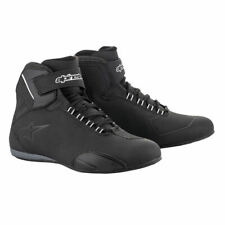 Alpinestars Sektor Mens CE Waterproof Motorcycle Shoes Black