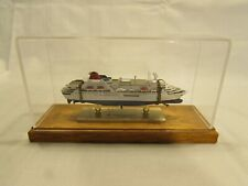 Fuji Maru Japanese Cruise Ship Desk Display Model Rare Passenger Boat