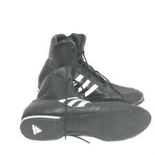 Adidas Box Boxing Boots Adult Boxing Shoes Kids Black Boxing Training Boot 12.5