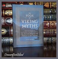 Viking Norse Myths Thor Loki Valkyries Erikson Folklore New Deluxe Hardcover