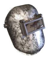 Hydro Dipped Custom Welding Helmet  WHP100 Silver Metallic SKULLS