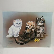 "Ken Holland If The Shoe Fits Lithograph Limited Edition 1979 Vintage 12"" Tall"