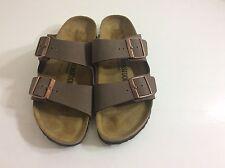 Birkenstock  Arizona Mocha Sandal Soft Footbed Women's Size 8