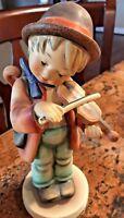 """Vintage Goebel Hummel Figurine 2/I Little Fiddler TMK 5 8"""" Tall West Germany"""