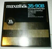 MAXELL UD XL 35-90B Sound Recording Tape made in Japan Tonband Spule und Band