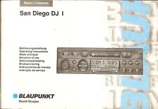 Betriebsanleitung Auto RADIO Blaupunkt San Diego DJ I Ausgabe 1997
