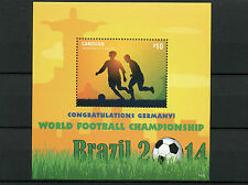 Canouan Grenadines St Vincent 2014 MNH World Cup Football Brazil Germany 1v S/S