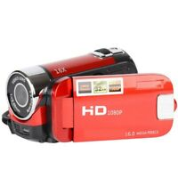 1X(Pantalla Tft De 2,4 Pulgadas Zoom 16X Zoom Digital Videocamara Dv Hd 108 K1P6