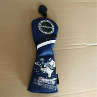 New Snow Leopard Design Golf Hybrid Club Headcover UT Cover For Taylormade Ping