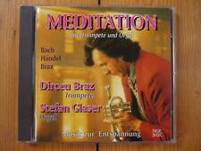 Dirceu Braz & Stefan Glaser Meditation  Bachtrompete und Orgel RAR!