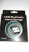 Genesis USB Bluetooth Nano Dongle Brand New
