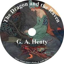 Dragon and the Raven, G A Henty Audiobook Unabridged Fiction English on 1 MP3 CD