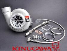 "Kinugawa Billet Turbocharger 4"" Anti-Surge T67-25G T3 8cm V-Band Housing"